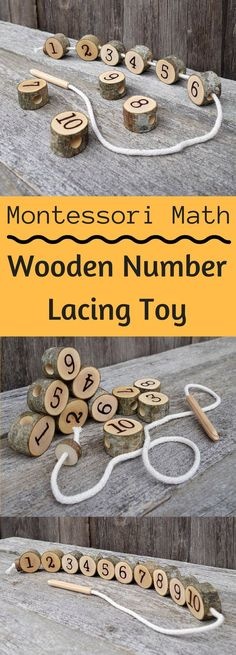 This is adorable. Learn math and work on hand eye coordination. Perfect! #montessori #kids #learning #ad