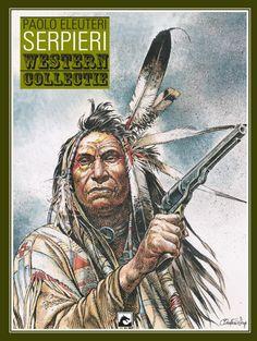 Jean Giraud, Westerns, Native Art, Native American Indians, Native Indian, Comic Book Characters, Comic Books Art, Milo Manara Comics, Acrylic Portrait Painting