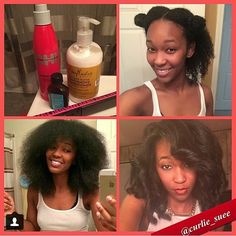 """""""Very niiiicceee @curlie_suee!  Get the step-by-step on her page.  #NaturalHairMojo #teamnatural #naturalhair #naturalhairdoescare #kinkycurly…"""""""