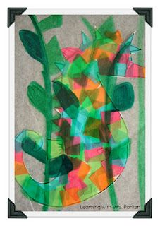LOVE this idea!  Make a seahorse to hide behind camouflage transparency seaweed.  Read Mister Seahorse by Eric Carle.