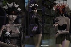 Monster Girl, Second Life, Hot Dogs, Batman, Superhero, Pictures, Blog, Fictional Characters, Art