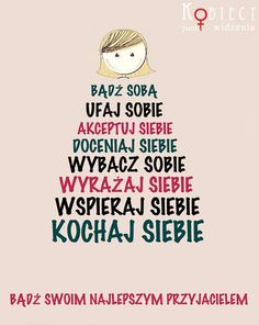 #poczuciewartosci Deep Thinking, Free Mind, Thinking Quotes, English Lessons, The Words, Better Life, Love Life, Motto, Self Love