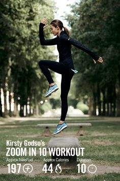 Find your zoom in 10 minutes flat with the Zoom Shape workout from Nike Master Trainer Kirsty Godso.