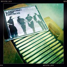 fresh box of debut #lookingfordroids #album #l4d