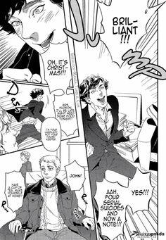 A Study In Pink, Sherlock Holmes Bbc, Air Gear, Fairy Tail Manga, Bleach Manga, Arthur Conan Doyle, One Piece Manga, Free Manga, Johnlock