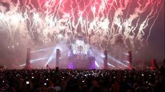 cool fireworks techno party Festival dubstep Holland Hardstyle The Netherlands defqon hard dance hardcore music Q-Dance