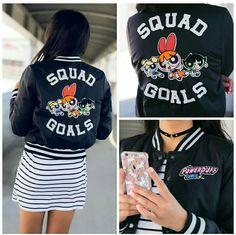 #bomberjacket #powerpuffgirls #cartoon #fashion #streetstyle #cool #clothes