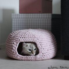 DIY: fabriquer le panier ou la niche de votre animal domestique