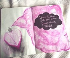 236 images about wreck this journal on We Heart It | See more about wreck this journal, art and drawing
