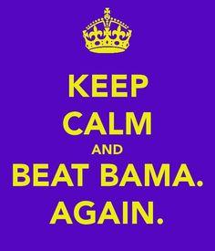 Beat Bama. Again.