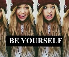 Acacia I dont care what color hair you have, what bands you like who calls you fake any of that because you will always be Acacia Brinley Clark. Don't worry about the haters bc everyone knows that haters gonna hate potatoes gon' potate.  even tho it took me a while to figure out what made you so special I still like you for who you are. So stop and take a minute to yell to the world that you are Acacia Brinley Clark, a strong, beautiful girl who doesn't care what anyone says bc in the end…