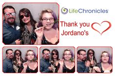 Complete PhotoBooth at a LifeChronicles event.
