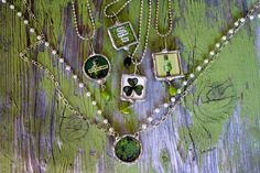 Chick's Picks Starts Thursday ... ends with a Flea market Sale Sunday! Here's Another Sneak Peek! Saint Patrick's Necklace.