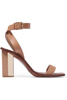 TORY BURCH Bleecker Leather Sandals. #toryburch #shoes #sandals