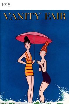 Then and now: In 1915, Vanity Fair also featured an illustration on its cover (pictured). One of its most recent issues, however, featured the first official picture of transgender Caitlyn Jenner
