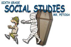 Mr. Petosa - 6th Grade Social Studies