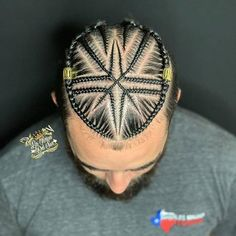 Hola, it's time for the men to flex some sensational braids. These braided hairstyles are handsome and charming. Cornrow Hairstyles For Men, Black Men Hairstyles, Dope Hairstyles, Ponytail Hairstyles, Natural Hair Braids, Braids For Black Hair, Braid Styles For Men, Braid Designs For Men, Braided Man Bun