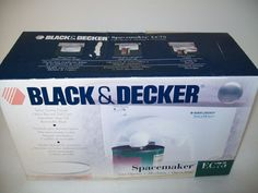 Black and Decker Spacemaker EC75 Under Cabinet can opener New in box #BlackDecker