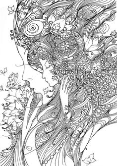 :: adult colouring page :: coloring
