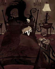 Abigail Larson is an artist from (the dark forests of) Richmond, Virginia. Abigail loves classic works of gothic fiction (Dracula and Frankenstein for instance) and brilliant minds like Edgar Allan Poe and Dr. Seuss. Abigail transforms their classical characters and stories into colorful illustrations. Her princesses have a soft and friendly touch like the classic …
