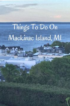 """Things to do on Mackinac Island - Tips on hikes, where to get fudge samples, and sites where """"Somewhere In Time"""" was filmed Michigan Vacations, Michigan Travel, Lake Michigan Vacation, Family Vacations, Macinac Island Michigan, Places To Travel, Places To See, Travel Destinations, Mackinaw City"""