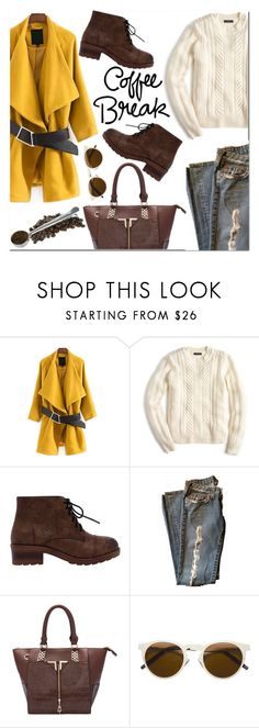 """Untitled #1707"" by mirisproleca ❤ liked on Polyvore featuring J.Crew, Illesteva and StreetStyle"