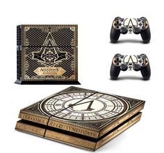 Assassins Creed Syndicate Vinyl Decal Skin For PlayStation PS4