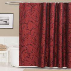 Flower Texture Shower Curtain