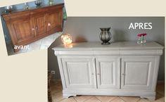 La finition est cirée et donne un esprit ancien et authentique au meuble.