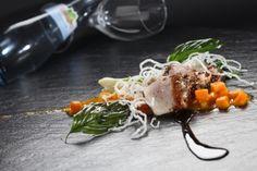 Schwertfisch in einer asiatischen Variante