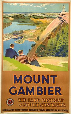 Mount Gambier. Wow -- they made SA look like Cumberland, complete with flanneled fools!