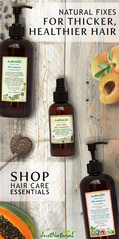 Get fuller, healthier hair and color that lasts longer with Just Natural's range of nutritive hair products. When it comes to taking care of your hair, Just Natural believes nature holds the key. That's why each and every product uses the power of natural ingredients to deliver results you'll fall in love with. Shop JustNaturalSkinCare.com.