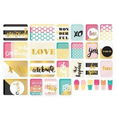 Becky Higgins Project Life Value Pack Cards Kit - Mix & Match 380413