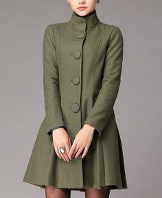 Slim Dress Style Retro Cashmere Coat Womens Party Prom Wool Overcoat Four-Color Fleece Blazer