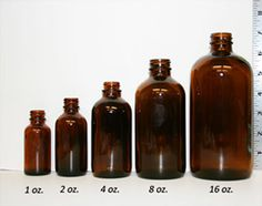 Glass & Plastic Container Size Charts (w/ conversions) Essential Oil Bottles, Essential Oil Diffuser, Essential Oils, Diy Beard Oil, Essential Oil Carrying Case, Science Supplies, Diy Supplies, Roll On Bottles, Custom Bottles