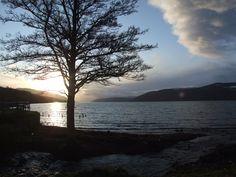 Loch Ness WInter Sunset From Dores Beach