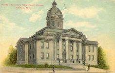 Halifax Courthouse Penny Postcard
