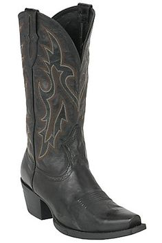 I need a black pair of boots for dressier occassions.