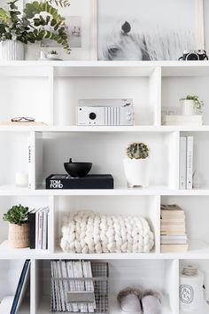 Como decorar prateleiras e estantes? - Danielle Noce