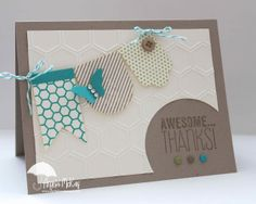 Yippee Skippee, July My Paper Pumpkin stamps, Hearts A Flutter Framelits, Honeycomb TIEF, candy dots