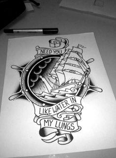 Brand New lyrics tattoo