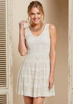 Monroe Crochet Dress - Dresses - What's New - Alloy Apparel