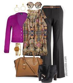 Plus Size Outfit - Plus Size Fashion for Women - Plus Size Work Outfit - Alexa Webb - alexawebb.com #plussize #plus #size #alexawebb