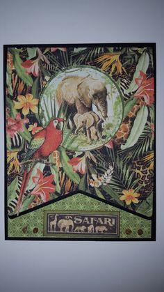 Graphic 45 Safari Adventure card