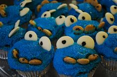 Our Cookie Monster birthday party we threw for our 2 year old.