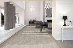Fliesen Boden-& Wandfliesen Feinsteinzeug Holzoptik Maryland Grey Grau Muster | eBay