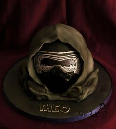 Kylo Ren cake - Cake by The Sweetest Thing