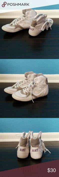 Nike Greco supreme Nike Greco supreme women's wrestling shoes.  White/grey/purple size 7. Nike Shoes Sneakers