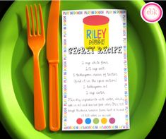 Play Doh Boy Girl 3rd Birthday Party Planning Ideas, tons of great birthday ideas