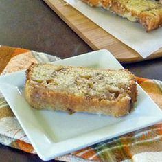 Apple cinnamon cake.